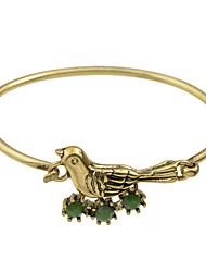 Cute Bird Shape Thin Bracelets Bangles