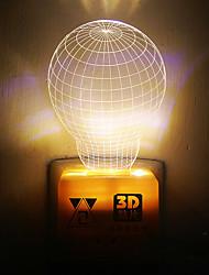 1pc conduit ac originalité de l'ameublement à la maison la lumière de nuit de la terre