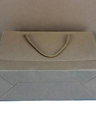пятно печать профессиональный пользовательский логотип горизонтальная версия крафт мешки бумажные мешки одежды мешки пачка из пяти