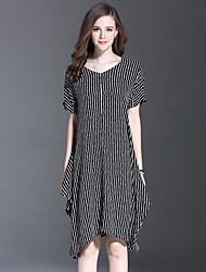 ES DANNUO Women's Occasion Style Dresses Type Dress,Pattern Neckline Dress Length Sleeve Length Color Fabric Season