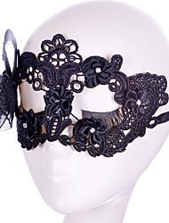 Lace Mask 1pc Le maschere per le vacanze Decorazione per feste Fantastico / Di tendenza Taglia unica Nero Pizzo