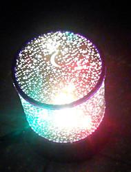1шт водить USB случайный цвет модели лампы отечественные проектор лампы блестящий мультфильм ночной свет