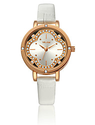 women watches 2016 VILAM oval Quartz-Watch Flowers Diamond Crystal quartz wristwatches