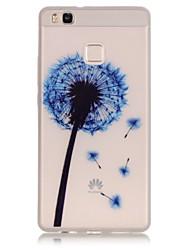 Pour Coque Huawei P9 P9 Lite P8 Lite Phosphorescent Coque Coque Arrière Coque Autre Flexible PUT pour HuaweiHuawei P9 Huawei P9 Lite