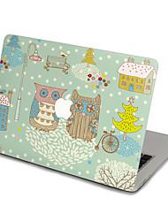 MacBook Front Decal Sticker Owl For MacBook Pro 13 15 17, MacBook Air 11 13, MacBook Retina 13 15 12