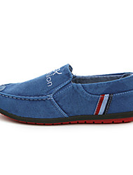 Women's Shoes Denim Spring / Fall Comfort / Flats Loafers & Slip-Ons Outdoor / Casual Flat  / Gray Walking