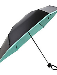 Mini Super Light Half Off Sun Anti Ultraviolet Portable Umbrella