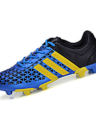 Zapatos de Hombre-Zapatillas de Atletismo-Deporte-PU-Negro / Azul / Naranja