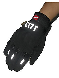 Riding Full Finger Touch Gloves Reflective Nontoxic Odorless Slip Resistant Breathable Waterproof