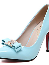 Women's Shoes Leatherette Spring / Fall Heels Heels Party & Evening Stiletto Heel Bowknot  Others