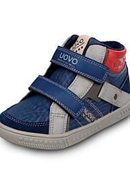 Boy's Sneakers Fall / Winter Comfort / Round Toe PU / Suede Casual Flat Heel Magic Tape Blue / Brown / Green Sneaker