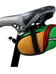 Bolsa de BicicletaBolsa para Bagageiro de Bicicleta Lista Reflectora / Compacto Bolsa de Bicicleta PVC / Póliester 600D Bolsa de Ciclismo