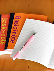 Effective 7650 Notebook Page A5 Wireless Binding Soft Copy 30 Exercise Books (Random Style)