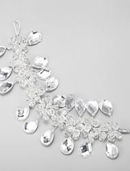 Women's Crystal Alloy Headpiece-Wedding Special Occasion Headbands 1 Piece