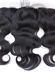Indian Virgin Remy Human Hair Lace Frontal Closure 13*4 inch Free Part with Baby Hair