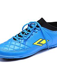 Черный / Синий / Серебристый-Мужской-На каждый день-Полиуретан-На плоской подошве-Удобная обувь-Спортивная обувь
