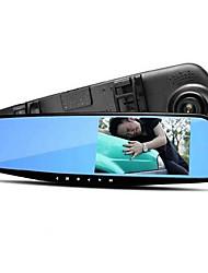 traseira gravador de condução espelho retrovisor atacado lente dupla 1080p hd grande angular de visão noturna