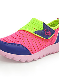 Unisex Sneakers Spring Summer Fall Winter Comfort Tulle Casual Flat Heel Others Blue Green Peach Other