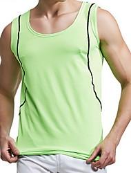 Homens Manga Curta Corrida Blusas Confortável Filtro Solar Primavera Verão Outono Moda Esportiva Corrida Algodão Náilon Chinês Delgado