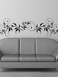 AYA™ DIY Wall Stickers Wall Decals, Flower Rattan Type PVC Panel Wall Stickers 33*120cm