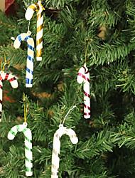 Acessórios do partido Acessório para Fantasia Natal Tema rústico Other Não-Personalizado Plastic Multicolorido 6Peça/Conjunto