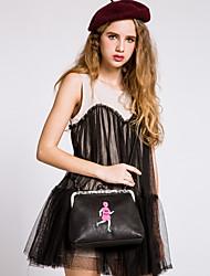 BAOBAOBAOSHI® Women PU Shoulder Bag Red / Gray / Black-15PN