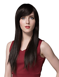 Soft Long Straight Human Hair For Woman 24 Inchs