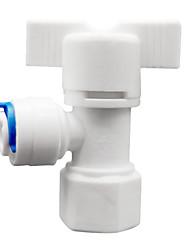 commutateur physique type instruments de mesure en matière plastique de couleur blanche cinq d'un paquet