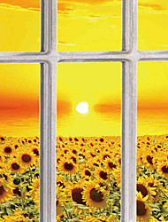 JAMMORY 3D Wallpaper For Home Contemporary Wall Covering Canvas Material Sunflower3XL(14'7''*9'2'')