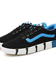 Chaussures Hommes-Décontracté-Noir / Bleu / Rouge-Toile-Ballerines