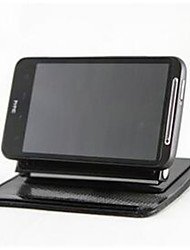 navigation automobile véhicule cadre téléphone mobile cadre silice support de gel de 360 degrés support de rotation navigateur GPS