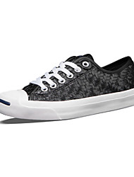 Converse Jack Purcell Women's Shoes Weave Outdoor / Athletic / Casual Sneakers Flat Heel Black