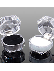 Acrylic Jewelry Box for Rings Earrings