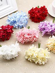1 Une succursale Plastique Cerisier du Japon Fleur de Table Fleurs artificielles