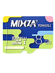 mixza 8 class gb 10 micro sd tf carte mémoire flash véritable vitesse de lecture haute vitesse: 80mb / s imperméable à l'eau