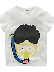 Children'S T-Shirts Diver New Children'S Clothing Boys And Girls Short Sleeve Shirt