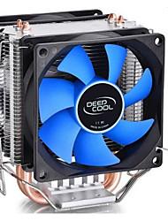2 ventilateurs ventilateurs de refroidissement mini-usb cpu pour ordinateur portable