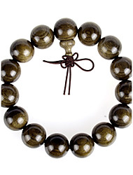 Strand Bracelets 1pc,Khaki Bracelet Fashionable Circle 514 Wood Jewellery