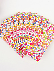 100% virgin pulp 50pcs Colorful Dots Wedding Napkins