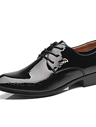 Westland® Men's Oxfords / Pointed Toe Patent Leather Office & Career / Party & Evening / Casual Low Heel Lace-up