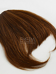 Lovely Human Bang Hair Clip In Bangs Fringe Extensions 30g/pcs Human Natural Hair Free Part Bang 2 Colors