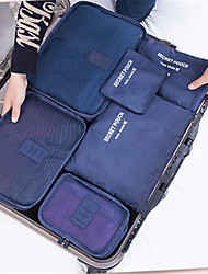 Travel Bag Set Of Six Pieces Of Luggage Waterproof Multifunctional Bag With Large Capacity