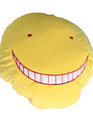 Monograma Inspirado por Sala de aula de assassinato Korosensei Anime Acessórios de Cosplay Monograma Amarelo / Púrpura AlgodãoMasculino /