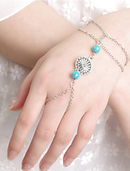 Chain Bracelets 1pc,Silver Bracelet Fashionable Circle 514 Alloy Jewellery