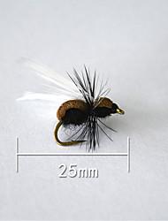 """500 pcs Harte Fischköder Schwarz 5 g/1/6 Unze,25 mm/1"""" Zoll,Weicher Kunststoff Köderwerfen"""