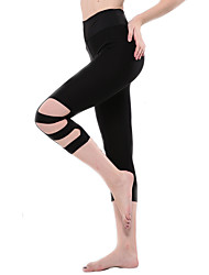 Women Solid Color Legging,Bamboo Carbon Fiber