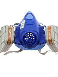 réservoir à double respirateur pesticides masque de protection anti-poussière