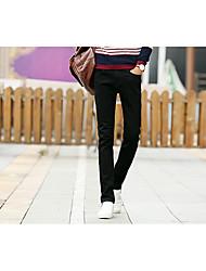Men's Solid Casual Jeans,Cotton Black
