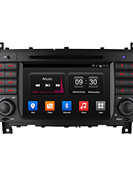 "ownice 7 ""16g rom Quad Core de DVD do carro android rádio 4.4 gps 1024 * 600 para Benz C-Class W203 CLK W209"