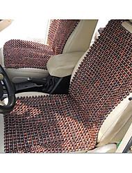 siège d'auto tissé vietnam perles d'acajou importé de la main avec un coussin de dossier herbe poire unique pad général à froid